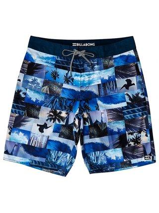 Billabong HORIZON OG NAVY pánské kraťasové plavky - modrá