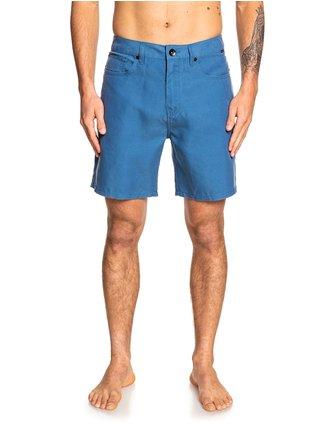 Quiksilver Nelson Surfwash STELLAR pánské kraťasové plavky - modrá