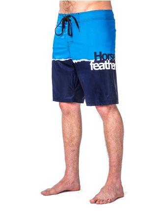 Horsefeathers STAN blue pánské kraťasové plavky - modrá