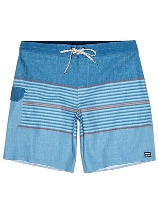 Billabong ALL DAY HTR STRP PRO harbor blue pánské kraťasové plavky - modrá