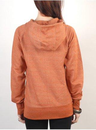 Ezekiel BALTHAZAR HEATHER RUST dámská mikina - oranžová