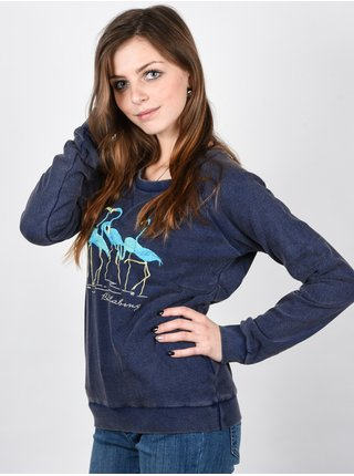 Billabong MALIBU STARRY NIGHT mikina dámská - modrá