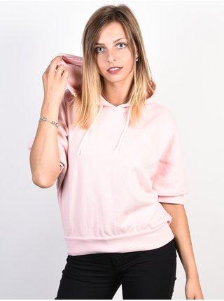 Element HUMMING ROSE QUARTZ mikina dámská - růžová