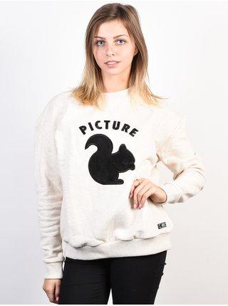 Picture Animal BEIGE mikina dámská - béžová