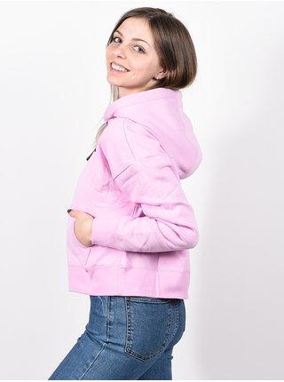 RVCA SPORT PINK LAVENDER mikina dámská - růžová
