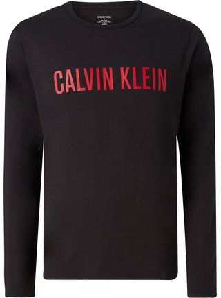 Calvin Klein čierne pánska mikina L/S Sweatshirt