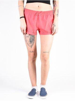 Roxy FESTIVAL BAZAR ROUGE RED dámské kraťasové plavky - růžová