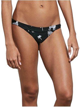Volcom Z For Zebra Hipster black dvoudílné plavky - černá