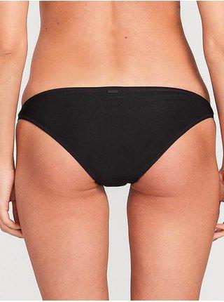 Volcom Simply Mesh Hipster  black dvoudílné plavky - černá