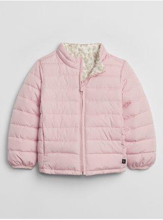 Ružová dievčenská bunda GAP