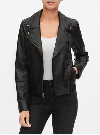 Čierna dámska bunda GAP