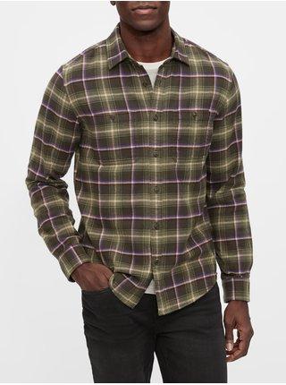Zelená pánska košeľa GAP