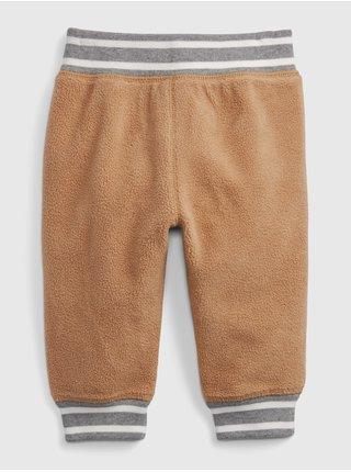 Hnědé klučičí kalhoty GAP