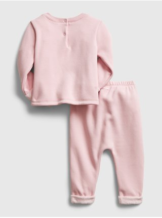 Ružová dievčenská tepláková súprava GAP