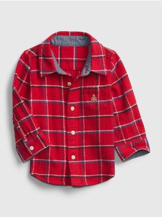 Červená chlapčenská košeľa GAP