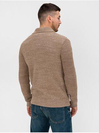 Hnedý pánsky sveter GAP