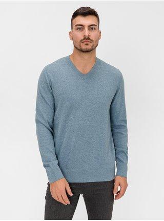 Modrý pánsky sveter GAP