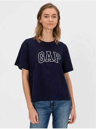 Modré dámské tričko GAP Logo