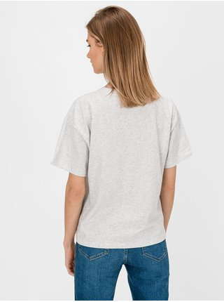 Šedé dámské tričko GAP Logo