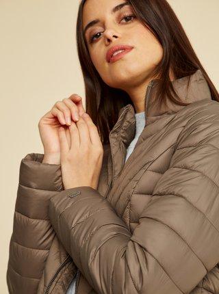 Hnedá dámska zimná prešívaná bunda ZOOT Vicci