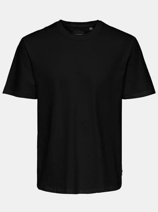 Čierne basic tričko ONLY & SONS