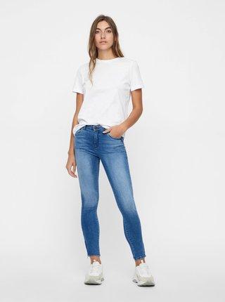 Modré skinny fit džíny Noisy May