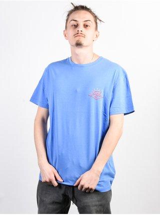 Rip Curl THE ORIGINS LAVENDER pánské triko s krátkým rukávem - modrá