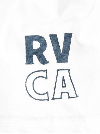 RVCA SIAM ANTIQUE WHITE pánské triko s krátkým rukávem - bílá