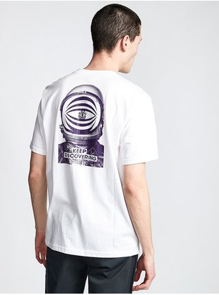 Element SHADOWS OPTIC WHITE pánské triko s krátkým rukávem - bílá