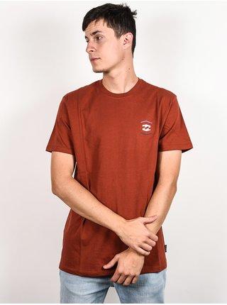 Billabong VISTA SANGRIA pánské triko s krátkým rukávem - červená