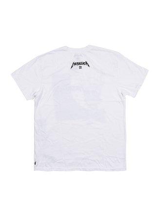 Billabong ONE white pánské triko s krátkým rukávem - bílá
