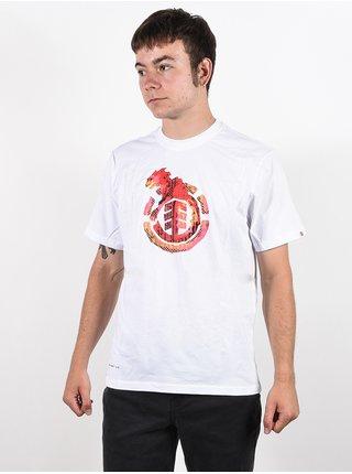 Element WBYC OPTIC WHITE pánské triko s krátkým rukávem - bílá