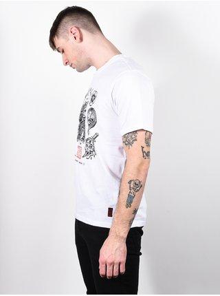 Element FLASH OPTIC WHITE pánské triko s krátkým rukávem - bílá