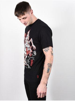 Element TREE GHOST FLINT BLACK pánské triko s krátkým rukávem - černá