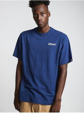 Element ALCOVE blue depths pánské triko s krátkým rukávem - modrá