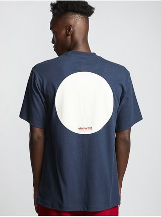 Element TOKYO indigo pánské triko s krátkým rukávem - modrá