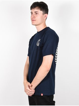 Spitfire CLASSIC SWIRL NVY/DSCHRG pánské triko s krátkým rukávem - modrá