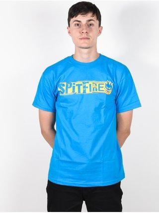 Spitfire RANSOM TURQUOISE/YLW pánské triko s krátkým rukávem - modrá