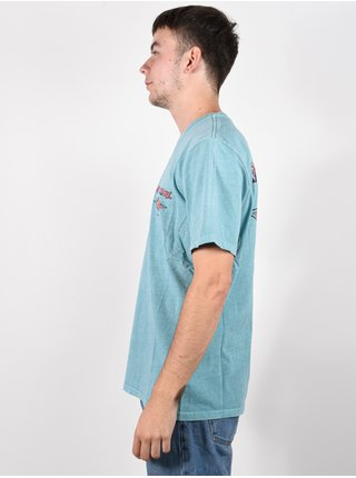 Rip Curl FADEOUT TEAL pánské triko s krátkým rukávem - modrá