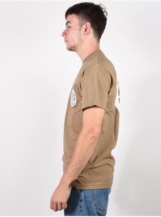 Etnies Laster SAFARI pánské triko s krátkým rukávem - hnědá