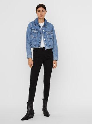 Modrá krátká džínová bunda VERO MODA