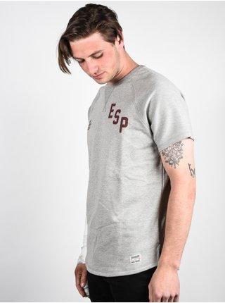 Element CALVIN grey heather pánské triko s krátkým rukávem - šedá