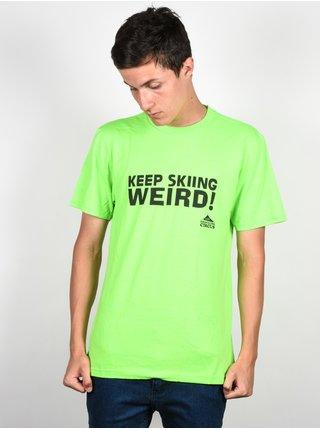 Line Traveling Circus green pánské triko s krátkým rukávem - zelená