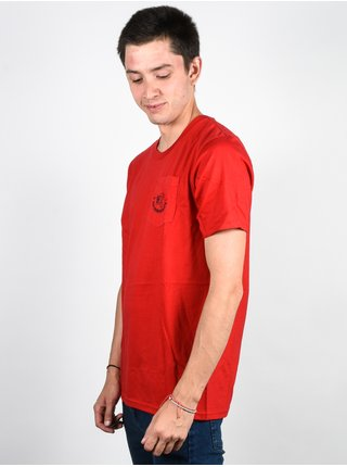 Ride Panther RED pánské triko s krátkým rukávem - červená
