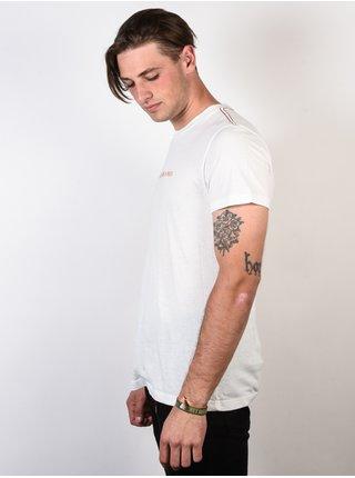 RVCA TOY MACHINE SURFER ANTIQUE WHITE pánské triko s krátkým rukávem - bílá