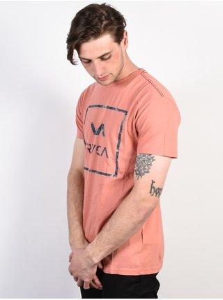 RVCA VA ALL THE WAY TERRACOTA pánské triko s krátkým rukávem