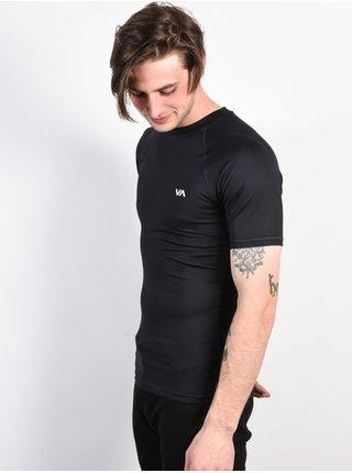 RVCA VA SPORT COMP black pánské triko s krátkým rukávem - černá