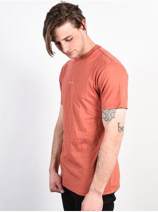 RVCA SMALL RVCA RED CLAY pánské triko s krátkým rukávem - červená