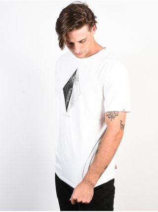 Element SOLAR BONE WHITE pánské triko s krátkým rukávem - bílá