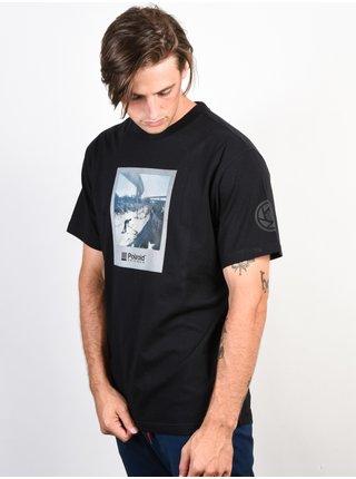 Element NASSIM FLINT BLACK pánské triko s krátkým rukávem - černá